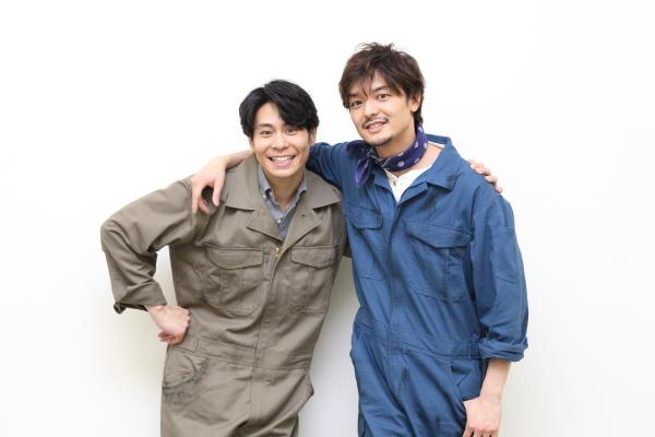 2018年版ではダグ役に上口耕平さん(右)と、バド役に鯨井康介さんのコンビが参戦!