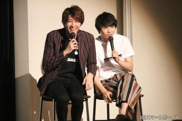 ゲストコーナー後も、小坂さんの「横で見てて」というリクエストで須賀さんも参加