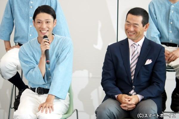 桑田さんの野球指導での姿を、素直な言葉で語る安西さん