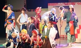 佐奈宏紀さんらがひらがなの擬人化キャラに扮する、舞台「ひらがな男子」開幕!
