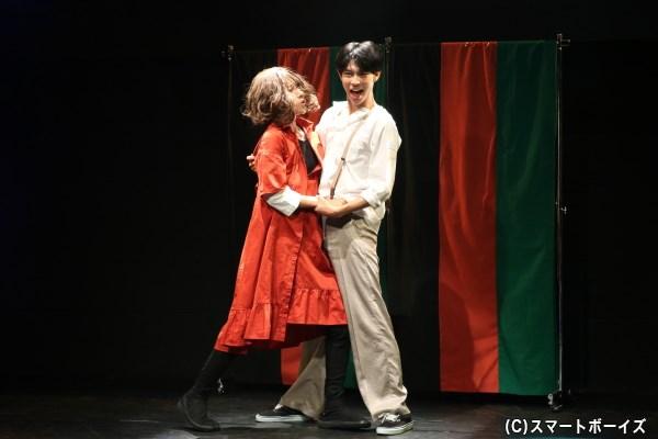 マリマリという女性に恋するも、なかなか上手くいかない主人公・シンジ