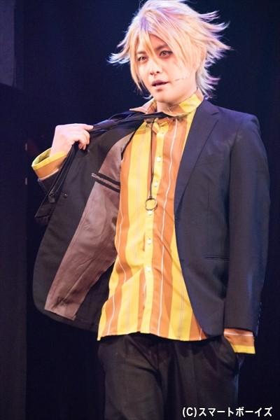ジャン・カルロ役の堂本翔平さん