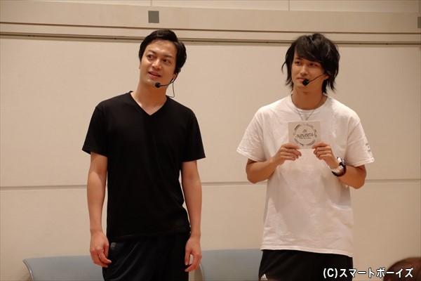 チャンピオン・海老澤さんは余裕そうな表情