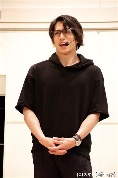 第1部で海老澤さんとタッグを組む鐘ヶ江洸さん