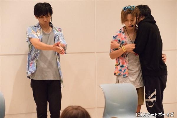 渡辺さん演じる強烈キャラに、観客は笑いっぱなし!