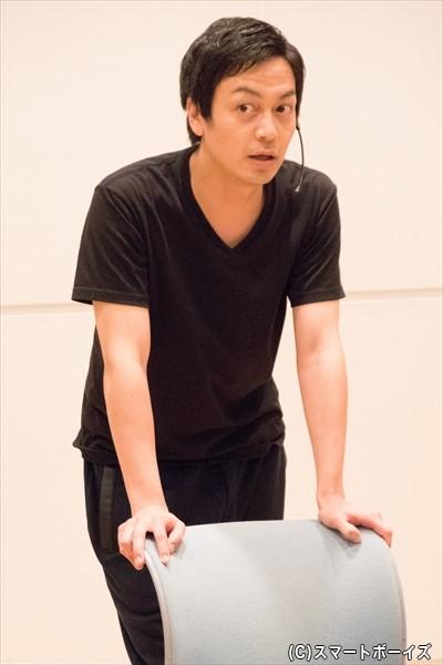 安達さんの前に立ちはだかるチャンピオン・海老澤健次さん