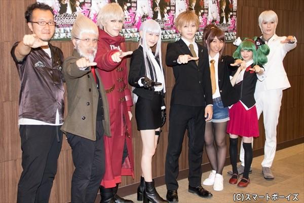 (左より) 西森英行さん、竹若元博さん、神永圭佑さん、岡本夏美さん、西銘駿さん、飯田里穂さん、市川美織さん、仲田博喜さん