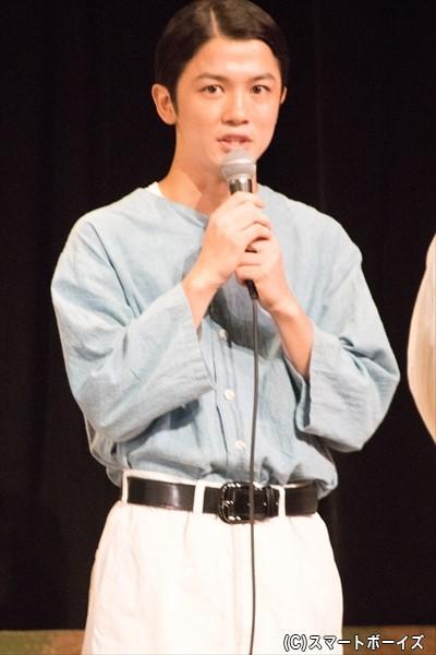 浜岡喜千男 役/小西成弥さん