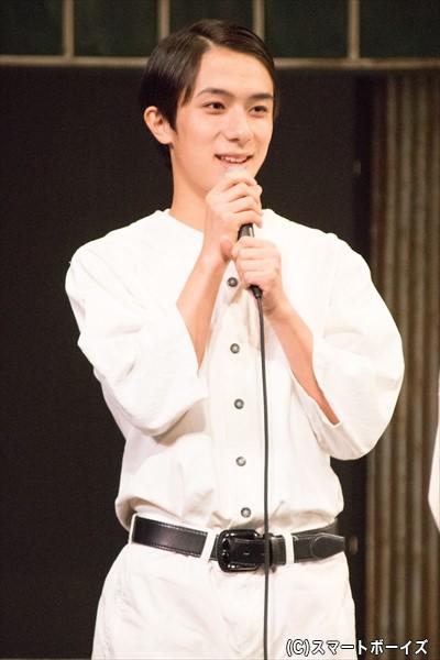 大竹明治 役/永田聖一朗さん