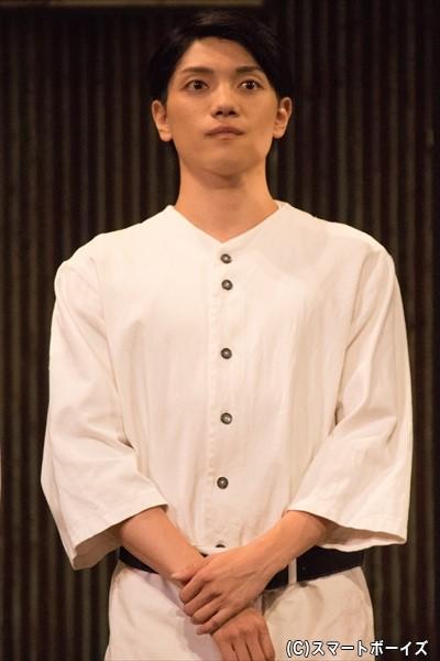 佐々木新 役/伊崎龍次郎さん