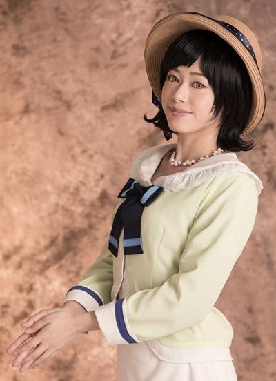 柾 小瑠璃役の栞菜さん
