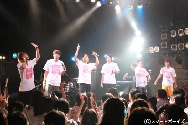ラストナンバーの「You got game?」では、ゲスト全員がステージに登場!