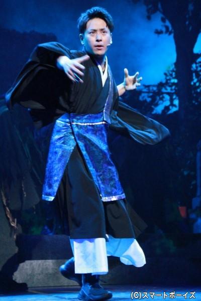 羽吹 隆(はぶき たかし)役の山下健二郎さん