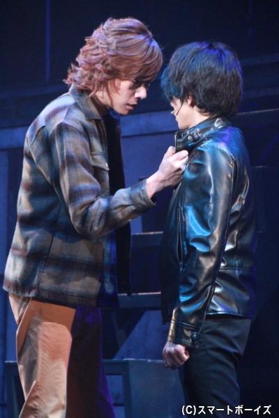 今作がラストステージとなる五十嵐さん、富田さんとのシーンにも熱が入ります!