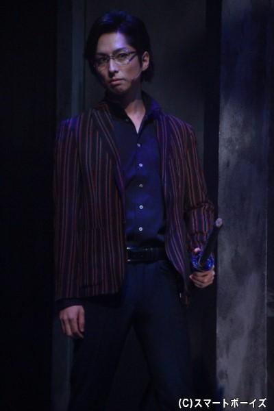 佐久間盛政役の田口涼さん
