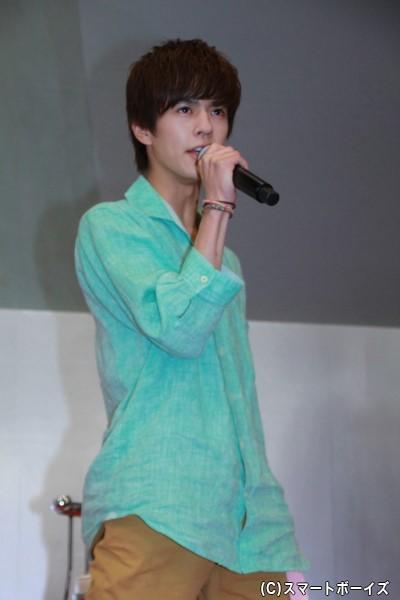 仮面ライダージオウ/常磐ソウゴ役の奥野壮さん