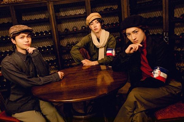 (左より)福留瞬さん、釣本南さん、松本ひなたさん
