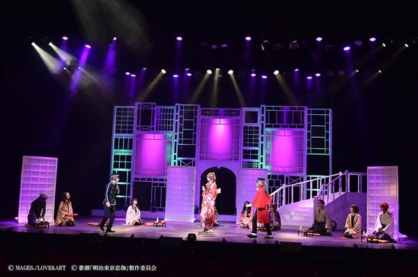 遊馬晃祐さん演じる川上音二郎が女役となり盛り上げる「日替わり対決シーン」も必見!