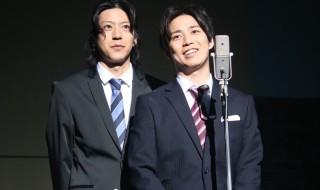 鎌苅健太さん(右)・小沼将太さん(左)ら、俳優陣がコントに挑むコメディ・ステージ!