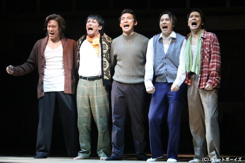 舞台『宝塚BOYS』が再び! 良知真次さんら出演のteam SEA公演が開幕