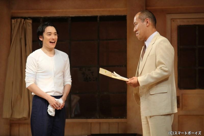 池田和也(右・山西 惇さん)から、男子部にある計画が伝えられる