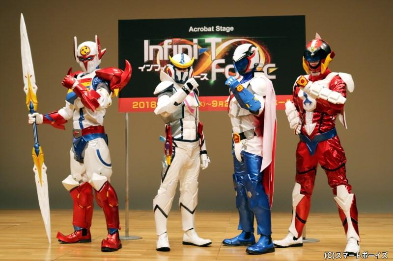 クラウドファンディングで制作された、本格的なヒーロースーツがいよいよお披露目に!