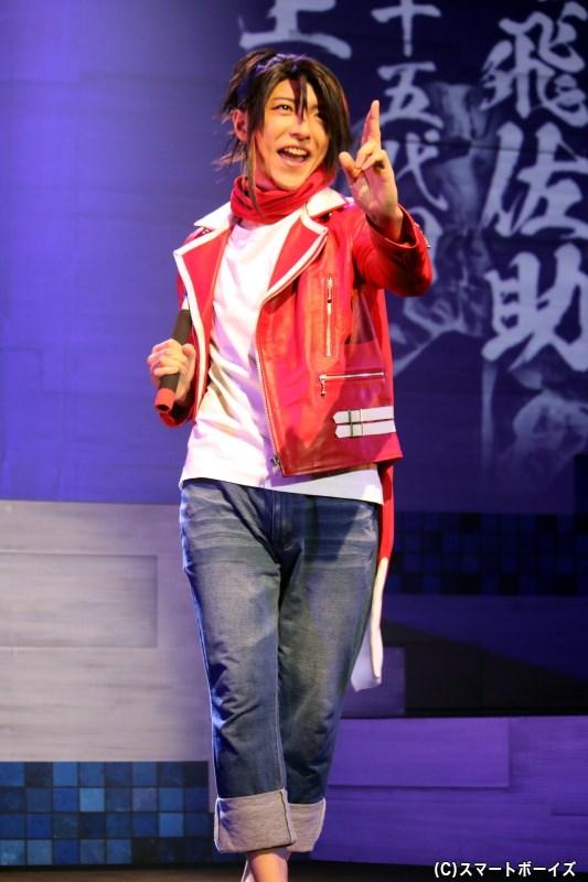 上月恭弥役の竹石悟朗さん