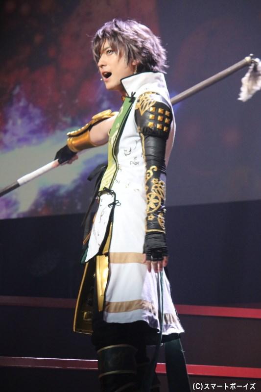 前田利家役の山本一慶さん