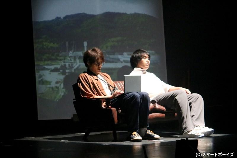 榎本に促され、誠一はジュリアンの姿を探して広島へと向かうことに