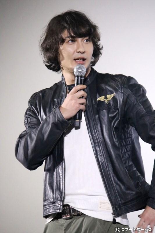 主演らしく、この日のトークではツッコミ役として盛り上げた藤田さん