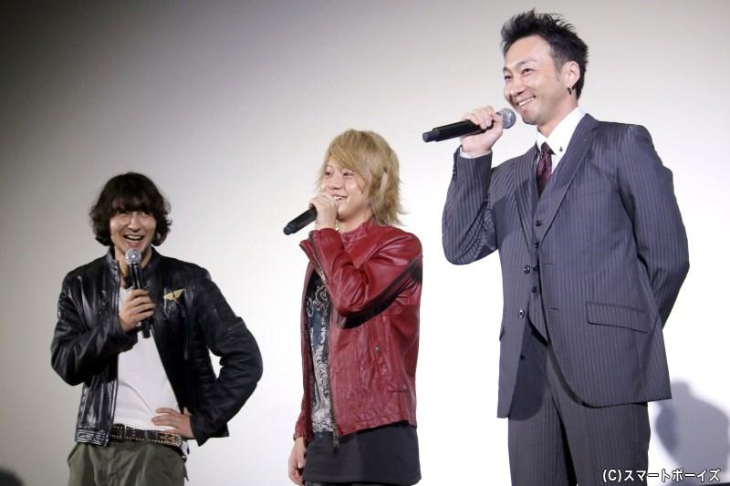 波岡さんの見事なトーク術に、藤田さん&佐藤さんも笑いが止まりません