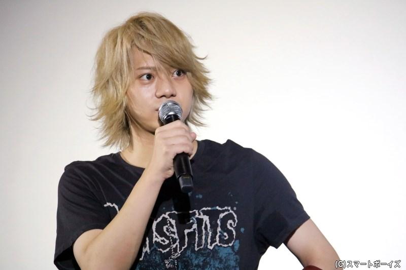 元木監督も魅力に挙げた、佐藤さんの目ヂカラは次回作でたっぷり観られるとのこと