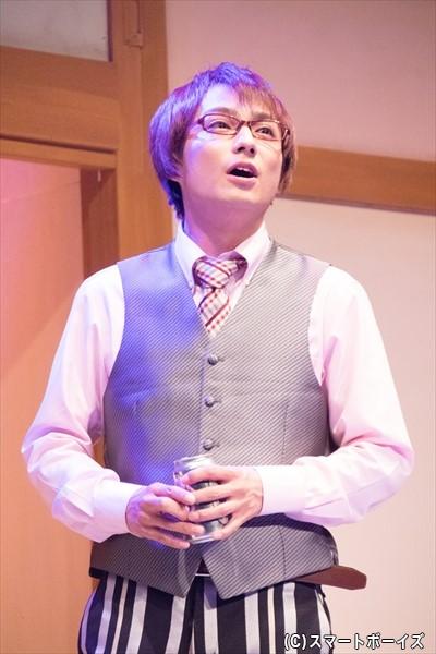ゲーム開発会社の社長となったトモヤ(松村泰一郎さん)