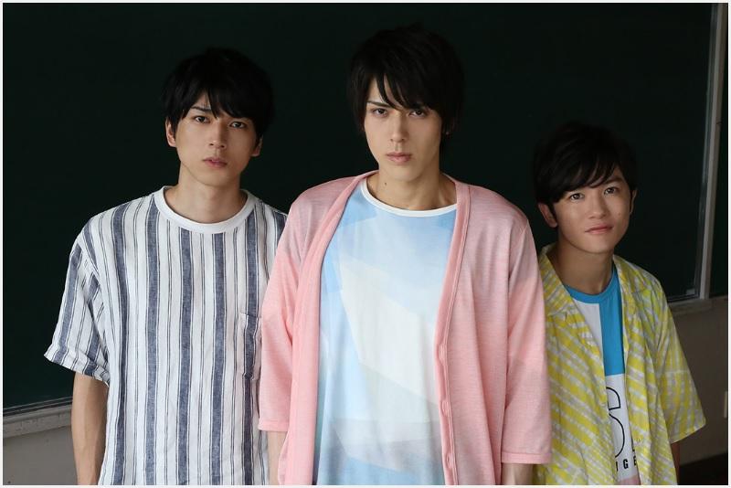 (左から)小松準弥さん、加藤将さん、小西成弥さん
