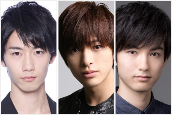 (左から)北村健人さん、遊馬晃祐さん、神田聖司(まさかず)さん