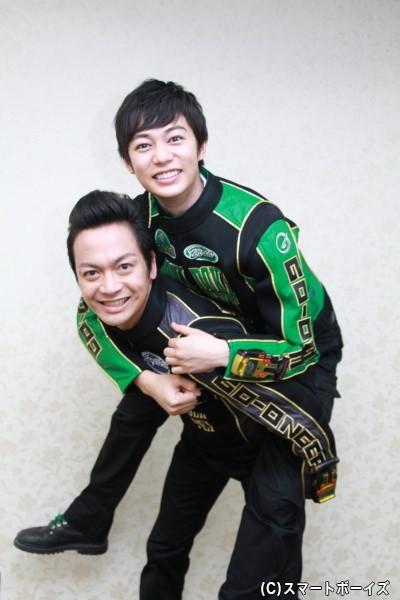 (おまけ)完成披露イベントでも見せたおんぶシーンを碓井さんと海老澤さんで再現!