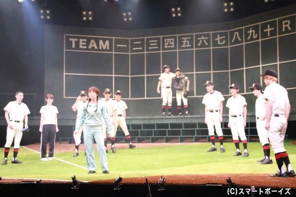 甲子園出場を目指す西浦高校メンバーたち