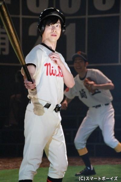 泉孝介役の安川純平さん