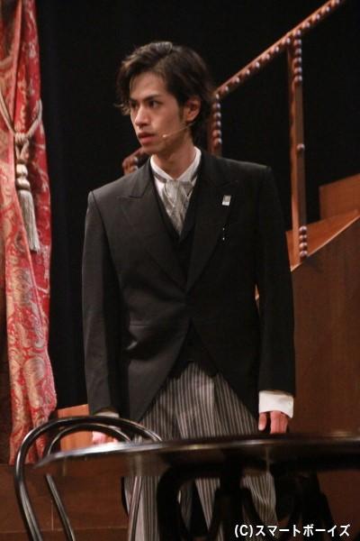 デュポン役の安孫子宏輔さん