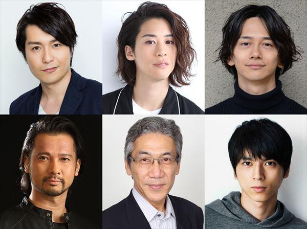 上段左から)大山真志、石田隼、横井翔二郎 伊藤高史、大原康裕、小松準弥