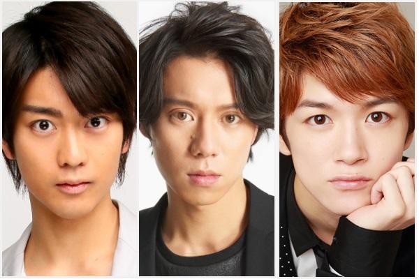 (左から)南圭介さん、伊勢大貴さん、小西成弥さん