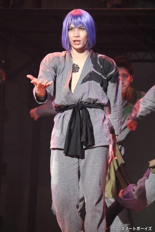 負けず嫌いなナルシスト:蝶庵(じょうあん)役の二葉 勇さん