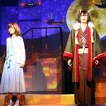 (左から)津場木葵役の野本ほたるさん、鬼神・大旦那役の仲田博喜さん
