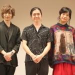 (左から)映画上映後のトークに登壇した染谷俊之さん、稲葉雄介監督、芋生 悠さん