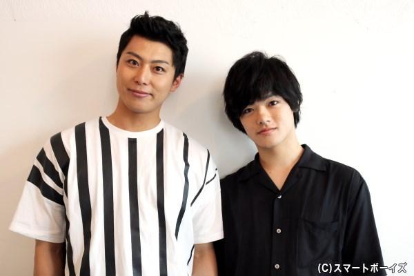 (写真左から)ドイツ役・上田悠介さん、イタリア役・長江崚行さん
