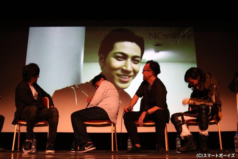 井澤勇貴さんら、映画キャストからのコメント映像も上映に
