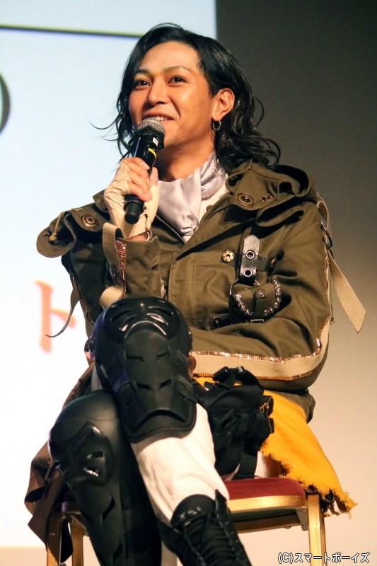 サリュート役の山田ジェームス武さん