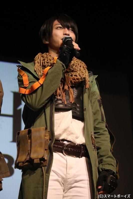 穂波葉礼役の石渡真修さん