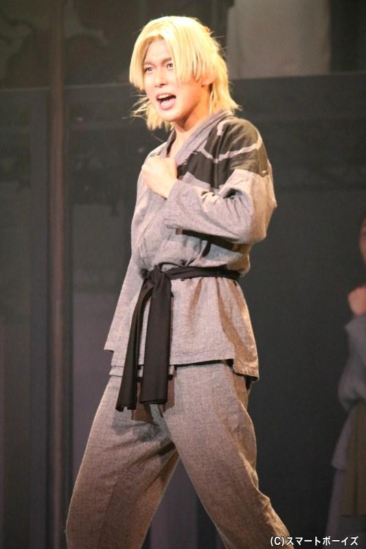 今作の主人公:峯明(ほうめい)役の田村 心さん