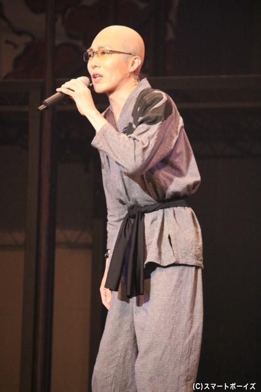 口やかましい秀才:隆善(りゅうぜん)役の谷戸亮太さん